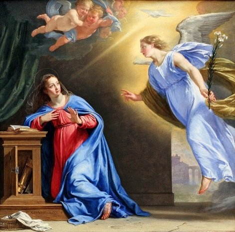 Image: Annunication by Philippe de Champaigne